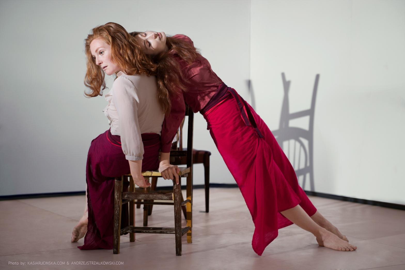 Flavia Bertram Mime Physical Immersive Theatre London Performer